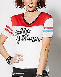 Daddys Lil Monster Harley Quinn Jersey - Suicide Squad