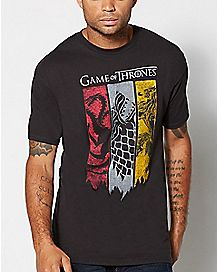 Game of Thrones Flag T Shirt