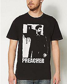 Jesse Custer Preacher T shirt