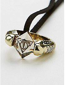 Resurrection Stone Harry Potter Necklace