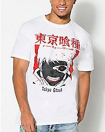 Red Tokyo Ghoul T Shirt