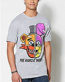 Stitch Face Five Nights At Freddy's T shirt