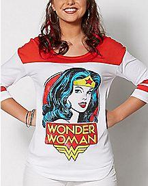 Wonder Woman Raglan T Shirt