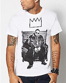 Biggie Crown Throne T shirt