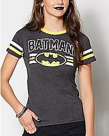 Batman Hockey T Shirt - DC Comics