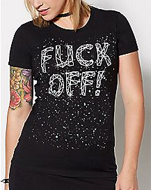 Constellation Fuck Off T Shirt