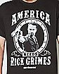 America Needs Rick Walking Dead T shirt
