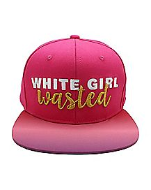 White Girl Wasted Snapback Hat