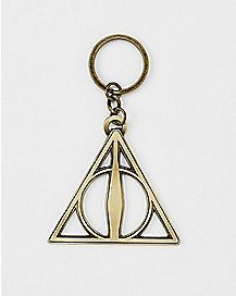 Deathly Hallows Key Chain - Harry Potter