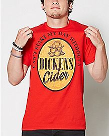 DICKENS CIDER T shirt