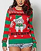 3D Cat Christmas Sweater