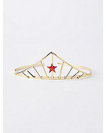 Gold Star Crown Headband