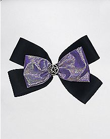 Purple Pentagram Bow