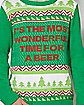 Wonderful Time For A Beer Christmas Sweater