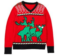 HUMPING REINDEER SWEATER