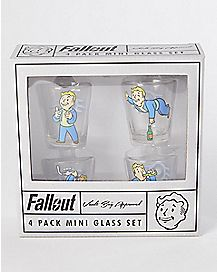 Vault Boy Fall Out Shot Glass Set - 4 Pack