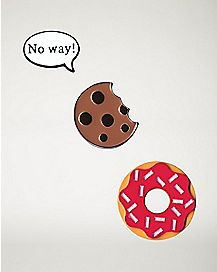 Donut Cookie Pin Set