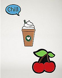 Cherry Chill Pin Set