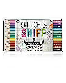 Sketch and Sniff Colored Pencils