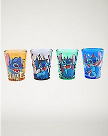 Lilo & Stitch Disney Mini Glass Set - 4 Pack 1.5 oz