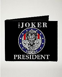 Joker For President Bifold Wallet