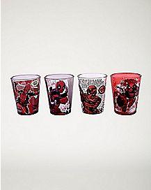 Marvel Deadpool Shot Glass Set - 1.5 oz