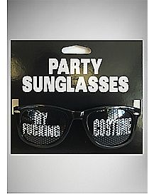 My Fucking Costume Party Sunglasses