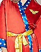 Satin Wonder Woman Bath Robe