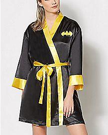 Satin Batman Robe - DC Comics