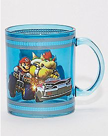 Mario and Bowser Mario Kart Mug - 16 oz.