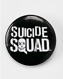 Logo Suicide Squad Button