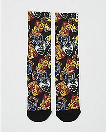 Sublimated Harry Potter Crew Socks
