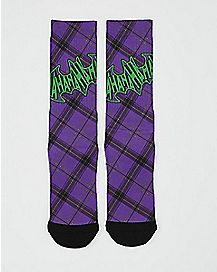 Hahaha The Joker Crew Socks - DC Comics