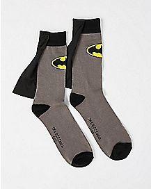 Caped Batman Crew Socks