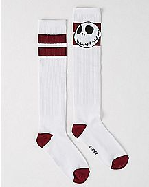 Jack Stroke Nightmare Before Christmas Socks