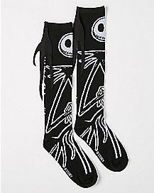 Jack Nightmare Before Christmas Knee High Socks
