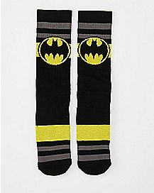 Batman Stripe Crew Socks - DC Comics