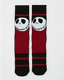 Jack Nightmare Before Christmas Crew Socks
