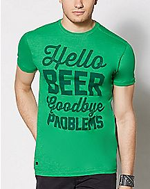 Hello Beer T Shirt