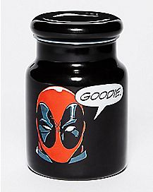 Deadpool Goodie Storage Jar 6 oz - Marvel Comics