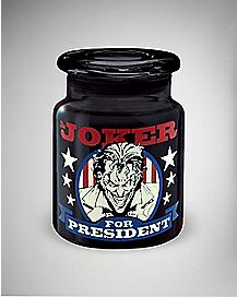 Joker For President  Storage Jar 6 oz. - DC Comics
