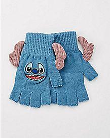 3D Stitch Fingerless Gloves