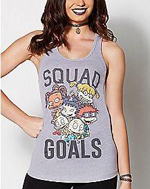 Squad Goals Rugrats Tank Top