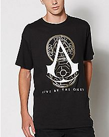 Assassins Creed Live By the Creed T Shirt