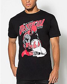 Deadpool Sadpool Burrito T Shirt - Marvel Comics
