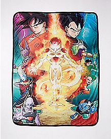 Dragon Ball Z Fleece Blanket