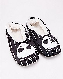 Jack Skellington Nightmare Before Christmas Slipper Socks