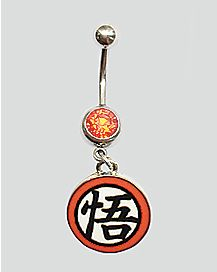 Dragon Ball Z Belly Ring- 14 Gauge