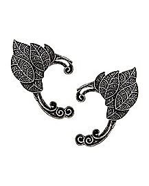 Leaf and Vine Elf Ear Cuff