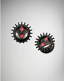 Harley Quinn Tunnel Plugs - DC Comics
